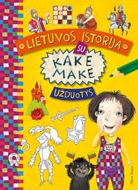 Knyga Lietuvos istorija su Kake Make. Užduotys