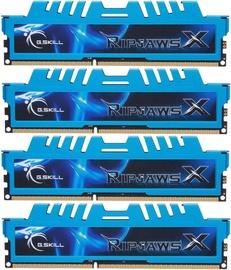 G.SKILL RipjawsX 32GB 1600MHz DDR3 CL9 DIMM KIT OF 4 F3-1600C9Q-32GXM