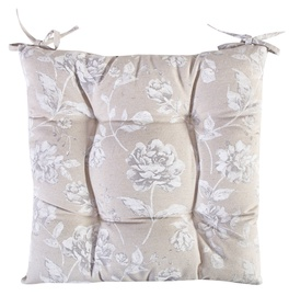 Home4you Chair Pad 40x40cm Wild Rose