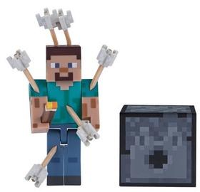 Žaislinė figūrėlė Jazwares Minecraft Steve with Arrows Series 4