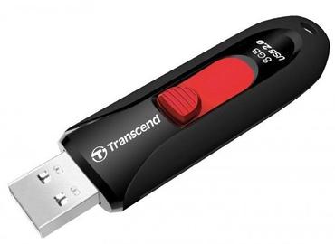 Transcend 8GB JetFlash 590 USB 2.0 Black/Red