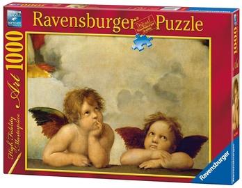 Ravensburger Puzzle Raphael Cherubs 1000pcs