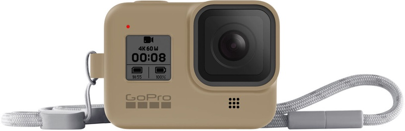 GoPro Sleeve + Lanyard For Hero8 Sand
