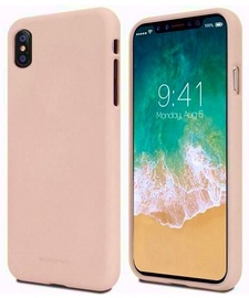 Mercury Soft feeling Matte Back Case For Apple iPhone 11 Pro Max Pink Sand