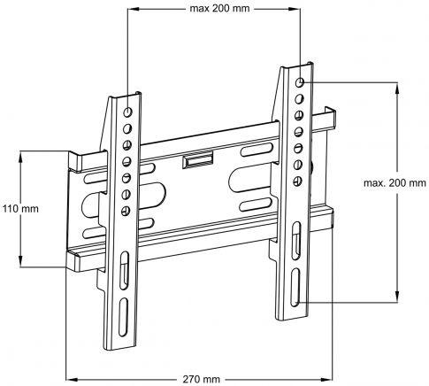ART LCD/LED Holder AR-44 14-42''