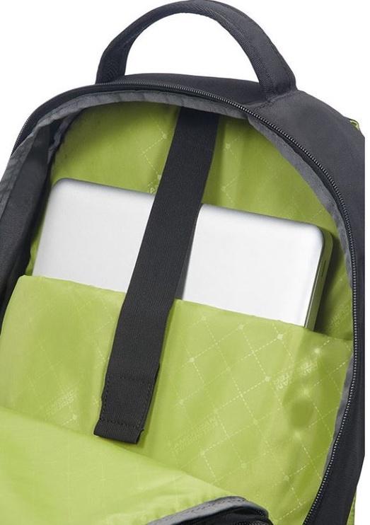 """Kuprinė Samsonite Notebook 15.6"""", juoda/žalia"""