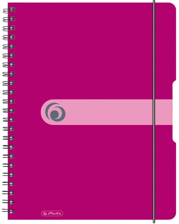 Herlitz Spiral Pad To Go A4 Berry 11293081