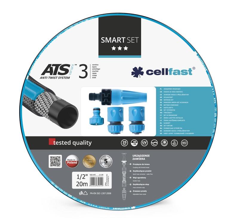 Laistymo rinkinys Cell- Fast 13-190 , Ø12.7 mm, 20 m
