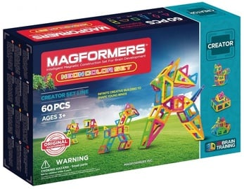 Magformers Neon Color Set 60pcs 36762