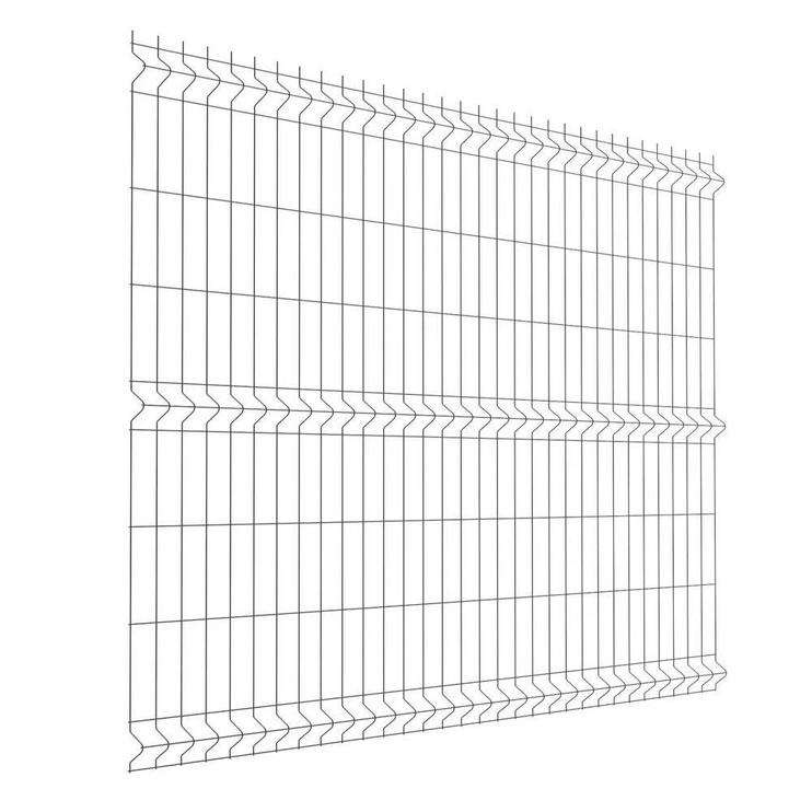 Сегмент забора SN Panel Fence 2.5x1.53m Silver