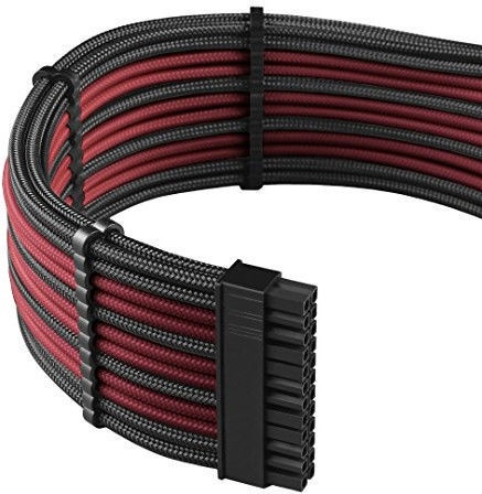 CableMod E-Series PRO ModMesh Cable Kit For EVGA G3/G2/P2/T2 Black/Blood Red