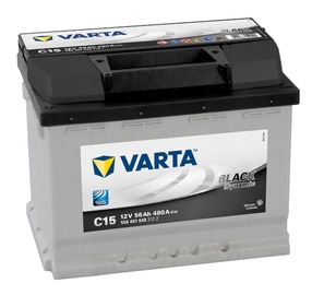 Akumuliatorius Varta BD C15, 12 V, 56 Ah, 480 A