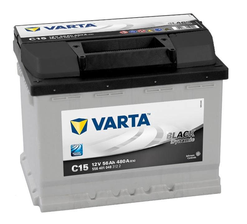 Аккумулятор Varta BD C15, 12 В, 56 Ач, 480 а