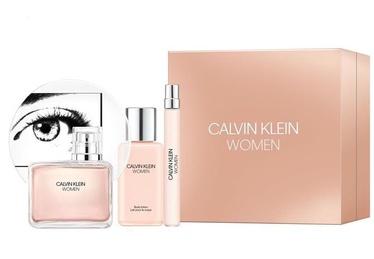 Calvin Klein WOMEN 100ml EDP + 100ml Body Lotion + 10ml EDP