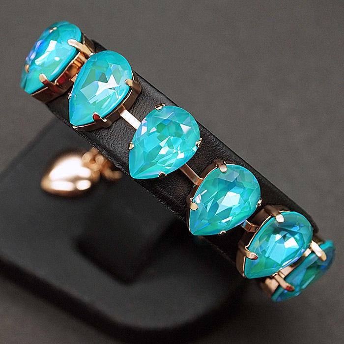 Diamond Sky Bracelet Crystal Drop Laguna DeLite With Crystals From Swarovski