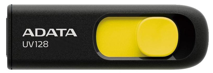 Adata DashDrive UV128 64GB Black/Yellow USB3.0