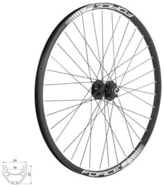 Force Basic Disc 32H Front Wheel 559x19mm + Front Hub