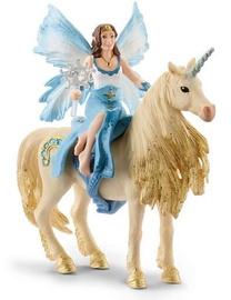 Schleich Bayala Movie Eyela Riding On Golden Unicorn 42508