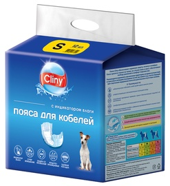Подгузники Ekoprom Cliny Male Dog Wrap, S, 12 шт.