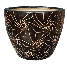 SN IPA8-151 Flower Pot 24cm Brown