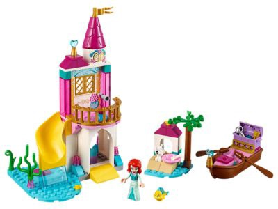 Конструктор LEGO Disney Princess Ariel's Seaside Castle 41160 41160, 115 шт.