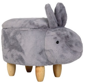 Signal Meble Pouf Rabbit Grey