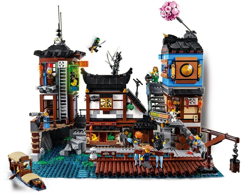 LEGO Ninjago City Docks 70657