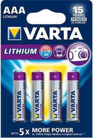 Varta R3 Professional AAA Batteries 4x