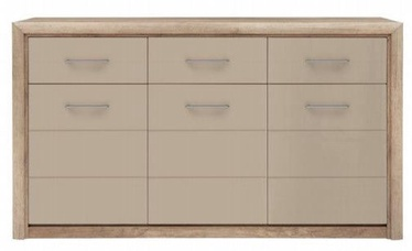 Black Red White Koen 2 Chest Of Drawers Oak/Grey Sand