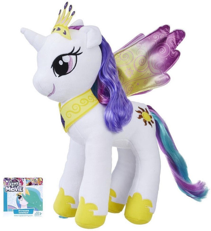 Hasbro My Little Pony The Movie Princess Celestia Large Soft Plush E0429