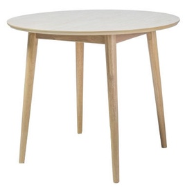 Pusdienu galds Signal Meble Nelson Honey Oak, 900x900x750 mm
