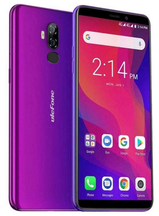 Ulefone Power 3L Dual Purple