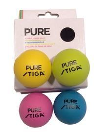 Stiga Pure Table Tennis Balls 4pcs