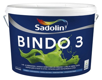 KRĀSA BINDO 3 BW 10L PIL.MAT. (SADOLIN)