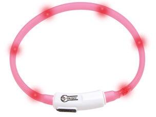 Kaklasiksna Karlie Flamingo Collar Visio Light Pink