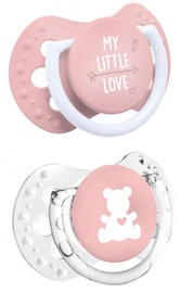 Lovi Dynamic Soother 2pcs My Little Love 22/847 Girl 0-2m