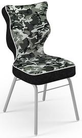 Детский стул Entelo Solo Size 3 ST33, черный/серый, 310 мм x 695 мм