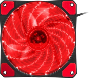 Genesis Hydrion 120 Case Fan Red