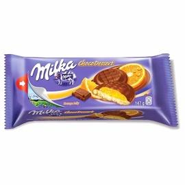 Sausainiai Milka Jaffa su apelsinų skonio įdaru, 147 g