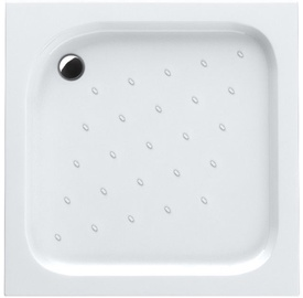 Schaedler Economic Shower Tray 80x16x80 Quad White