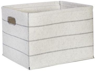 Home4you Basket Max Felt 3 38x28xH24cm White