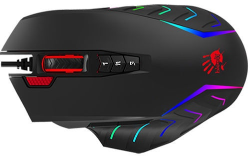 Игровая мышь A4Tech Bloody J95 Black, проводная, оптическая