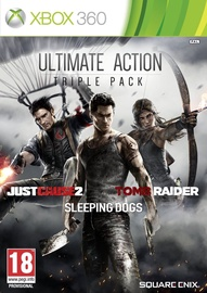 Ultimate Action Triple Pack: Just Cause 2, Tomb Raider And Sleeping Dogs Xbox 360