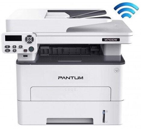 Лазерный принтер Pantum M7100DW, цветной