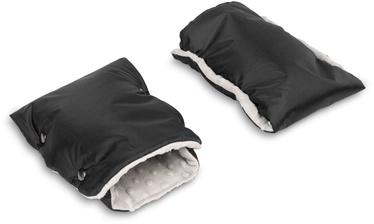 Перчатки для коляски Sensillo Minky, черный