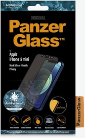 PanzerGlass Rounded Edges Privacy For Apple iPhone 12 Mini Black