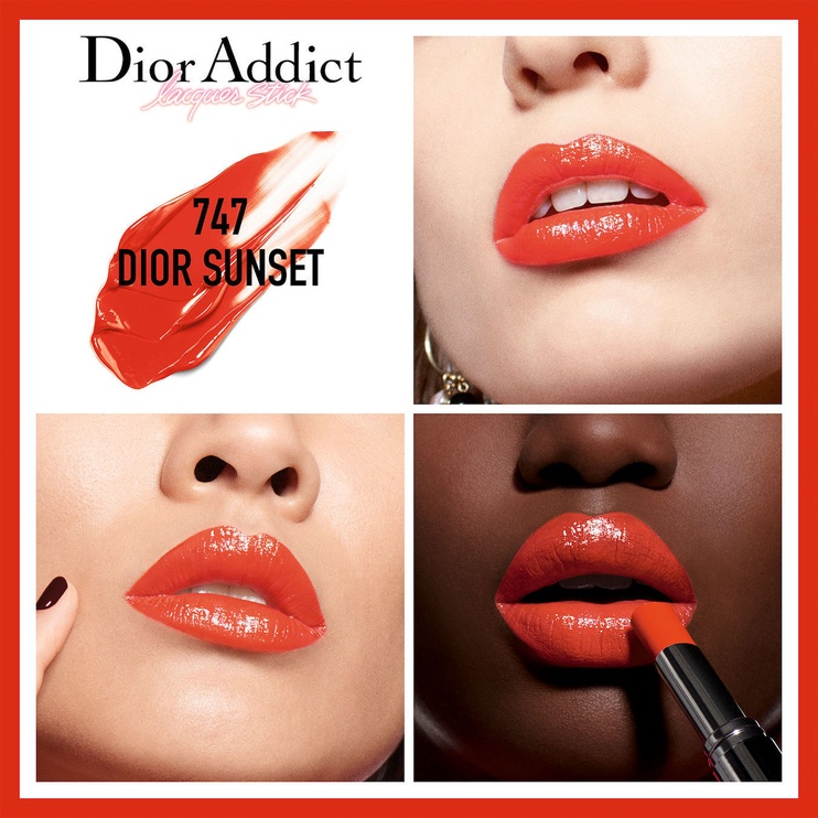 Christian Dior Addict Lacquer Stick 3.2g 747