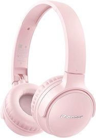 Pioneer SE-S3BT Wireless Over-Ear Earphones Pink