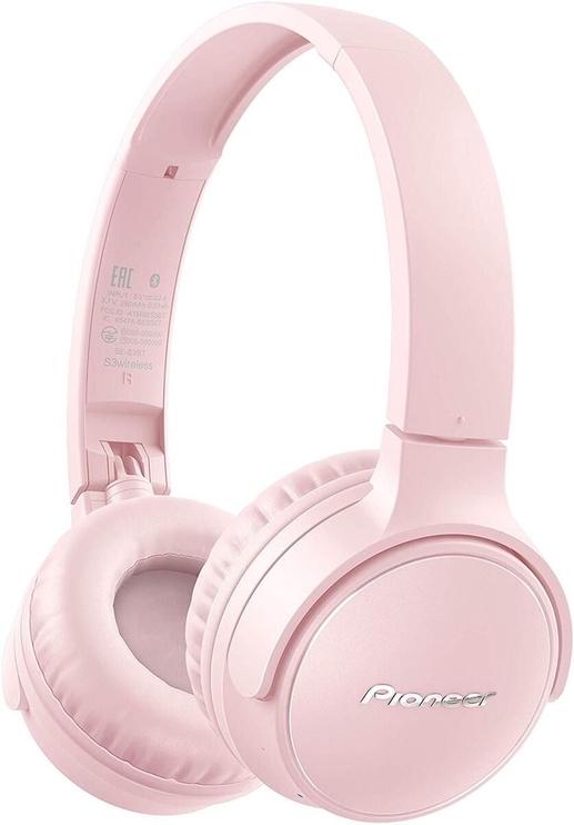 Belaidės ausinės Pioneer SE-S3BT Pink