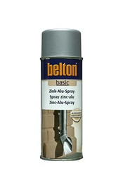 Aerosola krāsa Belton, 400ml, pelēka cinka/alumīnija